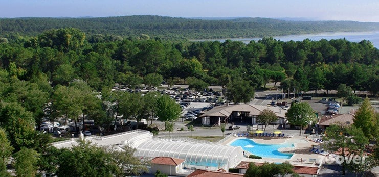 Photo-aerienne-Camping-Airial-Soustons-Landes