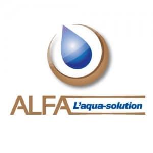 Logo d'Alfa groupe, le spécialiste de la localisation de fuite d'eau Biarritz Pau