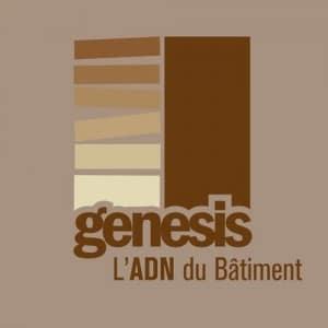 Logo Genesis groupe, Sovea groupe france, rénovation de batiment après incendie