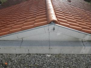 Recherche de fuite sur un toit