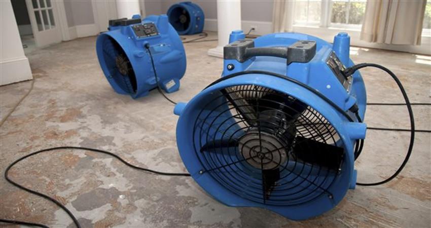 ventilateur pour assechement maison